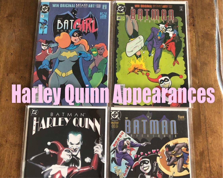 Harley Quinn Appearances