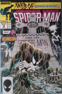 Web of Spiderman Cover